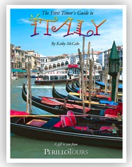 Free Travel DVD and First Timer's Guide to Italy Booklet