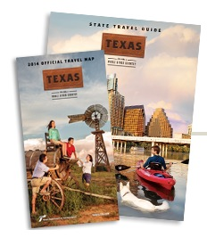 Free Texas State Travel Guide and Map