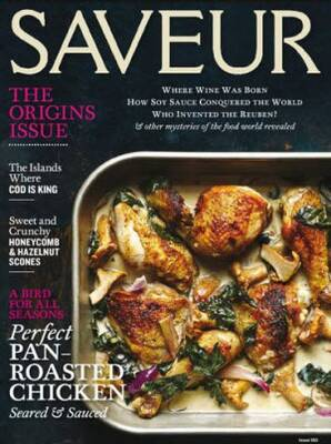 Free Subscription to Saveur Magazine