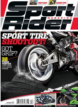 Free Subscription to SPORT RIDER Magazine (first 10,000)