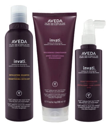 Free 3-piece Invati Sample Pack at Aveda Stores