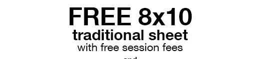 Free 8x10 Portrait at Target Portrait Studio (Military)