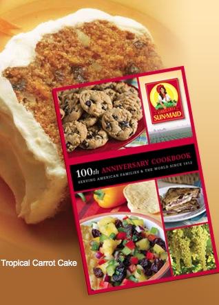 Free Sun-Maid 100th Anniversary Cookbook Booklet