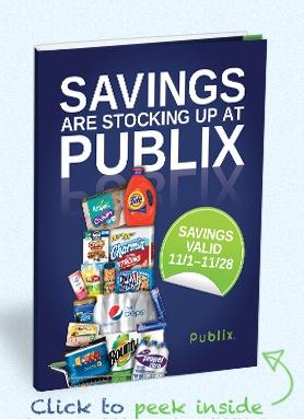 Free Publix Stocking Spree Coupon Booklet (AL, FL, GA, SC, TN)