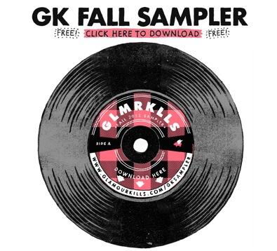 Glamour Kills Clothing: Free Music Sampler Download (Fall 2012)