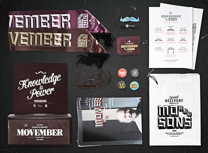 Free Movember Party Kit