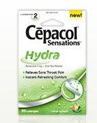 Free Cepacol Sensations Lozenges Sample