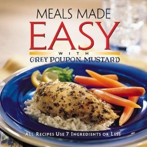 Free Grey Poupon Recipe Booklet from Kraft (call in)