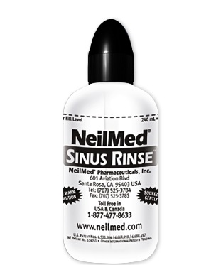 Free NeilMed Sinus Rinse Bottle (fb)