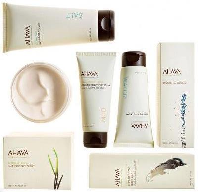 Free AHAVA Skincare Products (apply)