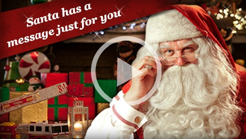 Free Personalized Video Message from Santa Claus (PNP)