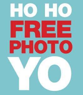 Free Photo with Santa and Free Picture Frame at Houlihan's on Saturdays