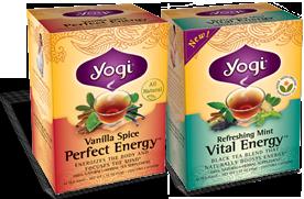 2 Complementary Yogi Tea Samples (fb)