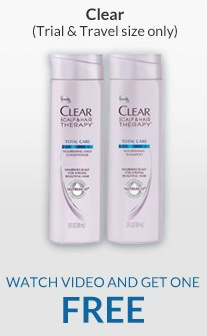 Free CLEAR SCALP & HAIR THERAPY Total Care at Rite Aid