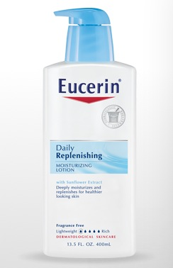 Free Eucerin Skin Lotion Samples