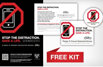 FREE Stop The Distraction Campaign Kit