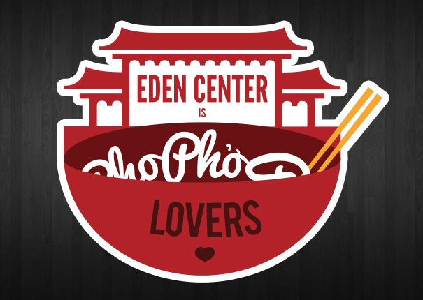Free Eden Center is Pho Lovers Stickers
