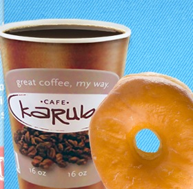 Free Donut and Karuba Coffee or Cappuccino at Kwik Trip (IA, MN, WI)
