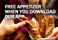 Free Appetizer at T.G.I. Friday's (app download)