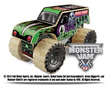 Free Monster Jam Kit at Lowes Build and Grow Clinic (2/23 and 3/9)