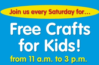 Free Events, Family Crafts & Activities (2/23-24)