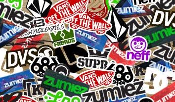 Free Zumiez Stickers (in-store)