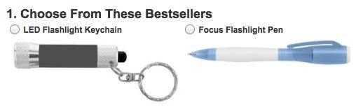 Free LED Flashlight Keychain, Laser or Flashlight Pen (Business)