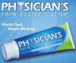 Free Sample of Physician's Pain Relief Cream (fb)