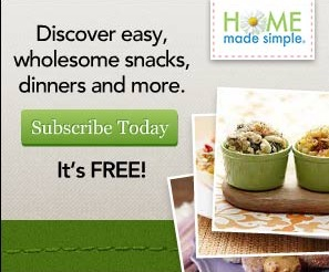 Home Made Simple: Free Menu Planner and Recipes
