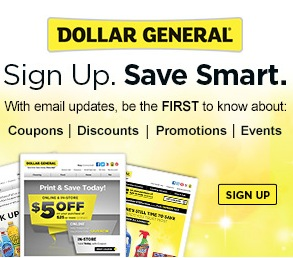 Dollar General Promotions and Savings