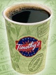 Free Coffee at Timothy's Cafe