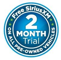 Free Sirius XM Radio on All Pre-Owned Vehicles