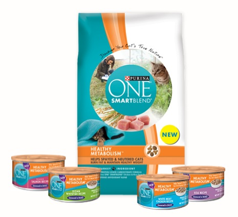 Free Purina ONE SMARTBlend Healthy Metabolism Cat Food Sample