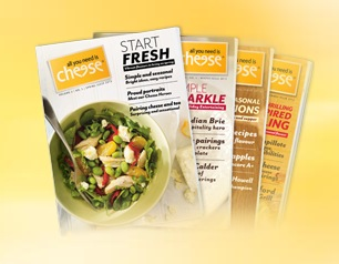 Free Copy of the all you need is Cheese magazine