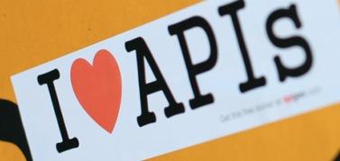 Free I Love APIs Sticker
