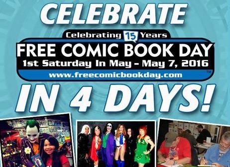 Free Comic Books (in-store)