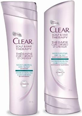 Free Clear Scalp Hair Care Sample (fb)