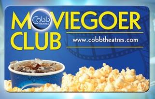 Free Small Popcorn at Cobb Theatres