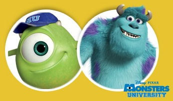 Free Potty Break Phone Call From Mike or Sulley (Monsters University)