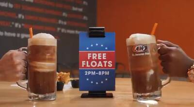 FREE A&W Root Beer Float at A&W Restaurants (8/6)