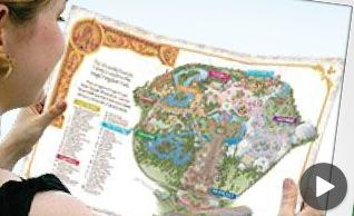 Free Disney Parks Customized Maps