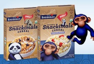Free Barbara's Organic Snackimals Cereal (apply, Mom Ambassadors)