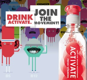 FREE Bottle of Activate Drink (fb)