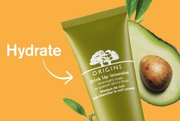 Free Clear Improvement or Drink Up Mask Sample at Origins