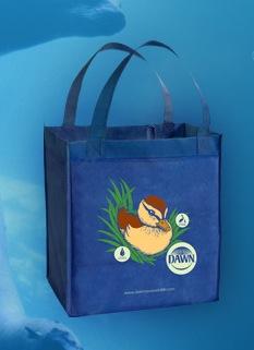 Free Dawn Saves Wildlife Reusable Shopping Bag