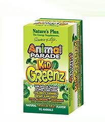 Free Nature's Plus Animal Parade KidGreenz Children's Chewable Sample