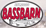 2 Free Bass Barn Stickers