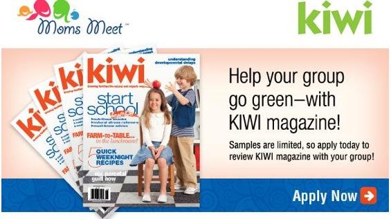 Free Issue Of KIWI Magazine (apply, Mom Ambassadors)