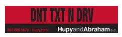 Free Don't Text And Drive Bumper Sticker