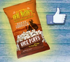 Free Bags Of Real McCoy's Baked Vermont White Cheddar Rice Puffs (fb)